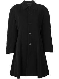 Пальто На Пуговицах Comme Des Garcons                                                                                                              черный цвет