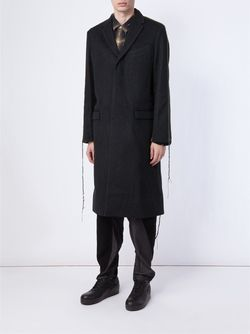 Пальто С Видными Швами MIHARA YASUHIRO                                                                                                              черный цвет