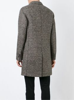 Двубортное Пальто Neil Barrett                                                                                                              серый цвет