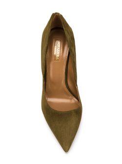 Туфли Hollywood Aquazzura                                                                                                              зелёный цвет