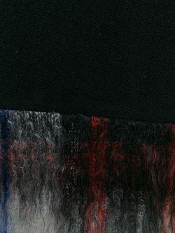Юбка С Контрастным Подолом Comme Des Garcons                                                                                                              чёрный цвет