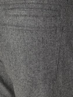 Брюки Прямого Кроя Brunello Cucinelli                                                                                                              серый цвет