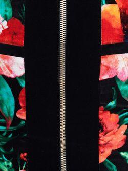 Zip Skirt Balmain                                                                                                              красный цвет