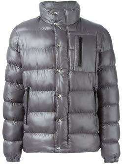 Дутая Куртка На Молнии Love Moschino                                                                                                              серый цвет