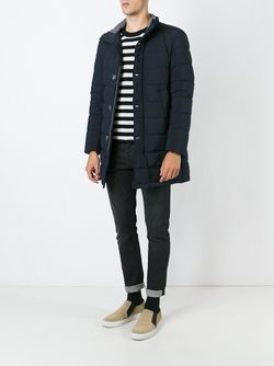 Дутая Куртка Herno                                                                                                              синий цвет