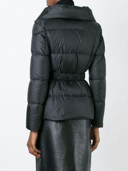 Двубортная Дутая Куртка Ermanno Scervino                                                                                                              чёрный цвет