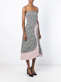 Твидовое Платье Без Лямок ROKSANDA                                                                                                              чёрный цвет