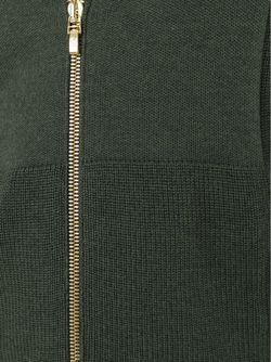 Свитер На Молнии Moncler Gamme Bleu                                                                                                              зелёный цвет