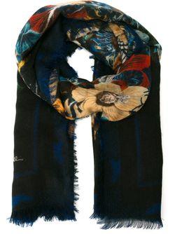 Блейзер С Цветочным Принтом Roberto Cavalli                                                                                                              черный цвет
