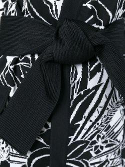 Кардиган С Цветочным Узором Balmain                                                                                                              чёрный цвет