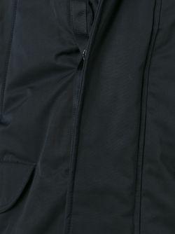 Trimmed Hood Parka Emporio Armani                                                                                                              чёрный цвет