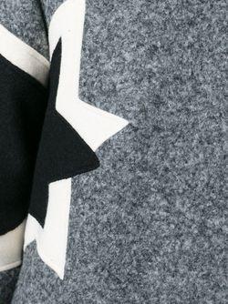 Свитер С Аппликацией Звезд Neil Barrett                                                                                                              серый цвет