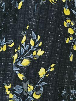 Укороченные Брюки С Цветочным Принтом Marni                                                                                                              черный цвет