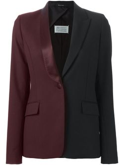 Блейзер Колор-Блок Maison Margiela                                                                                                              черный цвет