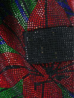 Декорированный Блейзер С Поясом Balmain                                                                                                              черный цвет