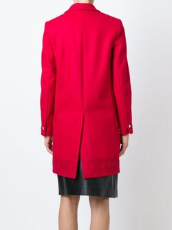 Пальто С Лазерной Перфорацией Versus                                                                                                              красный цвет