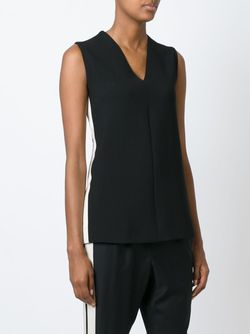 Sleeveless Top Lanvin                                                                                                              черный цвет