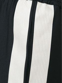 Contrasted Stripe Track Trousers Lanvin                                                                                                              черный цвет