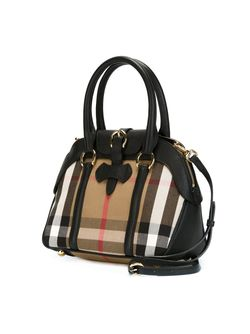 House Check Tote Burberry                                                                                                              чёрный цвет