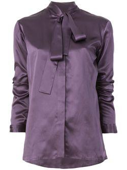 Рубашка С Завязками На Бант Haider Ackermann                                                                                                              розовый цвет