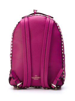 Рюкзак Rockstud Valentino Garavani                                                                                                              розовый цвет
