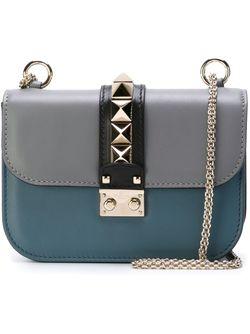 Сумка На Плечо Glam Lock Valentino Garavani                                                                                                              синий цвет