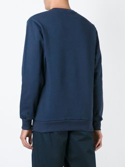 Толстовка С Принтом Логотипа ETUDES                                                                                                              синий цвет