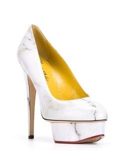 Туфли Dolly Charlotte Olympia                                                                                                              белый цвет
