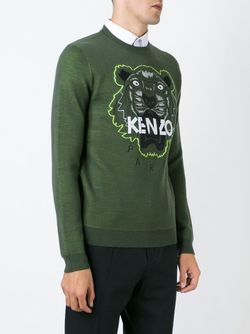 Толстовка Tiger Kenzo                                                                                                              зелёный цвет