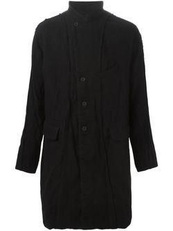 Пальто С Панельным Дизайном ZIGGY CHEN                                                                                                              синий цвет