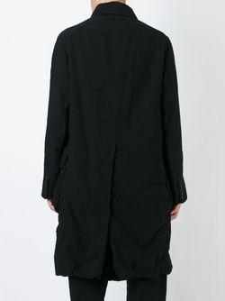 Пальто С Помятым Эффектом ZIGGY CHEN                                                                                                              чёрный цвет
