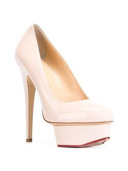 Туфли Dolly Charlotte Olympia                                                                                                              розовый цвет