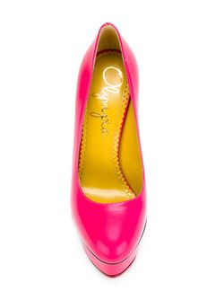 Dolly Pumps Charlotte Olympia                                                                                                              розовый цвет