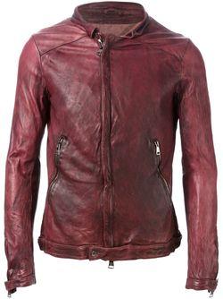 Куртка На Молнии Giorgio Brato                                                                                                              красный цвет