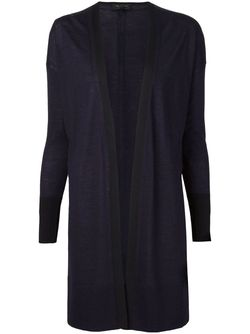 Fine Knit Open Front Cardigan Rag & Bone                                                                                                              синий цвет