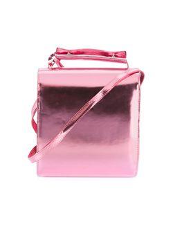 Сумка На Плечо С Металлическим Отблеском Marques Almeida                                                                                                              розовый цвет