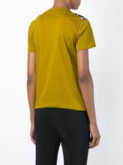 Футболка С Принтом Jil Sander                                                                                                              желтый цвет
