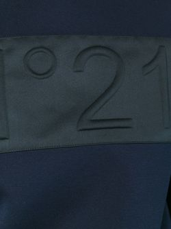 Embossed Logo Sweatshirt No21                                                                                                              синий цвет