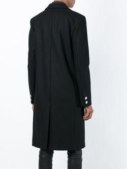 Double Breasted Coat Versus                                                                                                              чёрный цвет