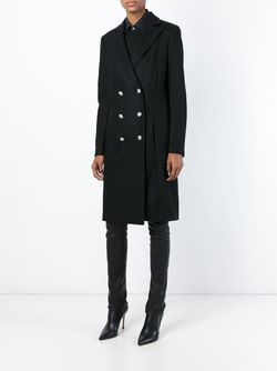 Double Breasted Coat Versus                                                                                                              черный цвет