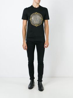 Medusa T-Shirt Versace                                                                                                              чёрный цвет