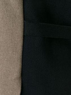 Двухцветный Топ С V-Образным Вырезом Maison Margiela                                                                                                              коричневый цвет