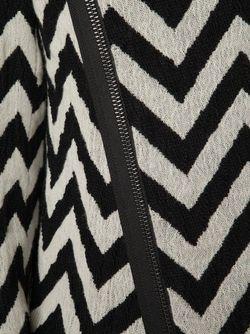Chevron Effect Coat MADS DINESEN                                                                                                              чёрный цвет