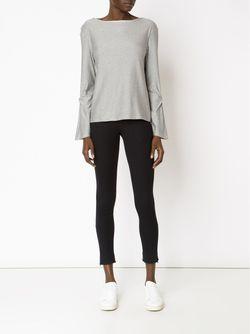 Cropped Skinny Trousers AUDRA                                                                                                              чёрный цвет