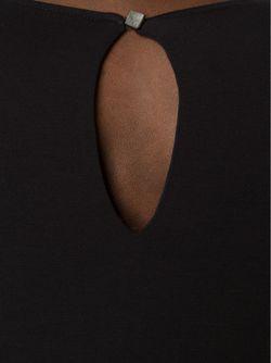 Loose Fit Midi Dress AUDRA                                                                                                              чёрный цвет