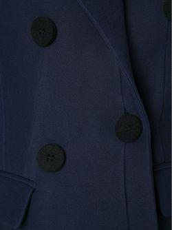 Креповый Пиджак Derek Lam                                                                                                              синий цвет