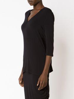 Three-Quarter Sleeve Top AUDRA                                                                                                              чёрный цвет