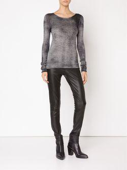 Fine Knit Dyed Sweater Avant Toi                                                                                                              серый цвет
