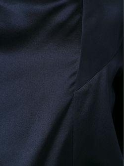 Asymmetric Collar Panelled Blouse Barbara Bui                                                                                                              синий цвет