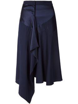 Draped Asymmetric Skirt Barbara Bui                                                                                                              синий цвет
